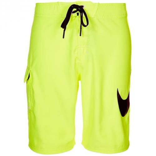 nike performance scout swoosh solid badeshorts gelb mr wet. Black Bedroom Furniture Sets. Home Design Ideas