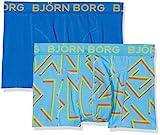 Björn Borg Herren Boxershorts 2p Shorts BB 80'S, Blue (Aquarius), S