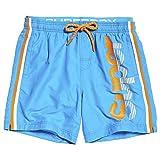Superdry Badeshorts Herren State Volley Swim SHO Ocean Blue, Größe:M