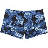 Chiemsee Herren Gemustert Boxer Badeshorts, D1002 Beachbreak Blue, L
