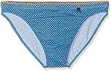 HOM Herren Badehose Bora Swim Micro Briefs Blau Motif Géométrique, Marine, Bleu, Orange Et Rose 00bi, Medium