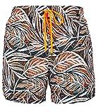 Skiny Herren Badehose Shorts orange tropic Gr. XL