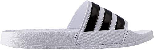 Adidas Adilette Shower, Herren Dusch- & Badeschuhe, Weiß (Footwear White/Core Black/Footwear White 0), 43 EU
