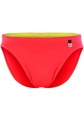 HOM - Herren - Swim Micro Briefs 'Sunlight' - Hochwertige Badehose - red - L