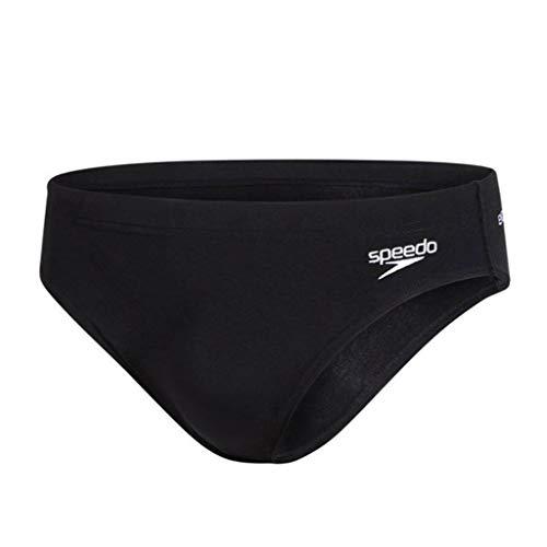Speedo Herren Plus Essential Endurance+ 7cm Sportsbrief, Schwarz (Black), D7