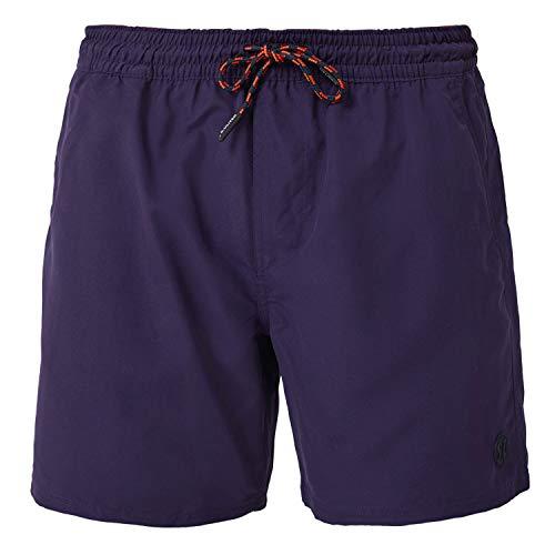 s.Oliver Badeshorts, Badehose, Schwimmhose, Bermuda (XXL, violett)
