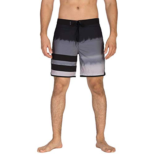 Hurley Herren Boardshort M Phantom BP Fever, Black, 33, AV8232