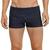 Schiesser Herren Aqua Bade-Retro Shorts, (Schwarz 000), X-Large (Herstellergröße: 007)