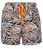 Skiny Herren Badehose Shorts orange tropic Gr. M